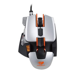 Cougar 700M Silver RGB Led - Laser Pro Gaming Mouse