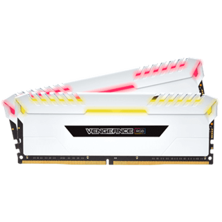 RAM Corsair Vengeance RGB (2x8GB) 16GB DDR4 Bus 3600MHz C18 - White Edition