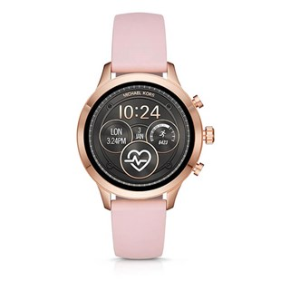 Michael Kors Access Runway Rose Gold-Tone and Silicone Smartwatch
