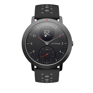 Withings Steel HR Sport Smartwatch 40mm - Mặt Đen