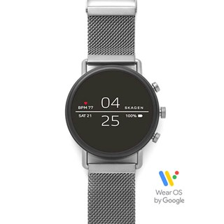 Skagen Falster 2 Gray Magnetic Steel-Mesh