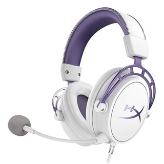 Kingston HyperX Cloud Alpha Limited Edition - White Purple