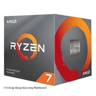 AMD Ryzen 7 3800XT - 8C/16T 32MB Cache 3.9GHz Up to 4.7GHz