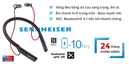 Tai nghe bluetooth Sennheiser Momentum In-ear Wireless