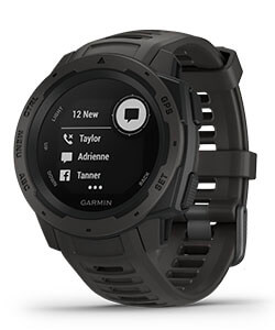 Garmin Instinct - Stay connected